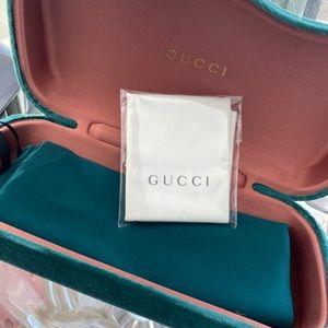 One More! Authentic New GUCCI Medium sunglass case